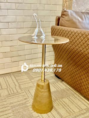 Bàn cafe, tab decor tab sofa phòng khách, cửa hàng, văn phòng đá tự nhiên tại HCM