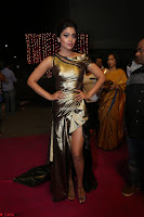 Shreya Saran in Skin Tight Golden Gown ~  Exclusive 056.JPG
