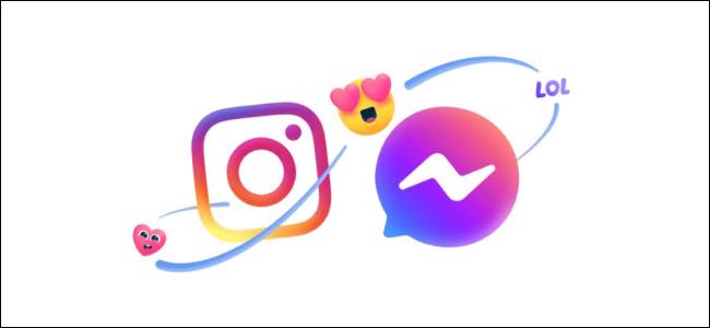 شعارات فيسبوك ماسنجر إنستغرام