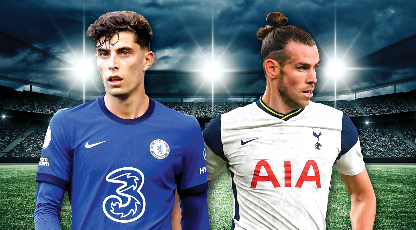 Kai Havertz and Gareth Bale will try to leave Stamford Bridge victorious after this Sunday's North London Derby