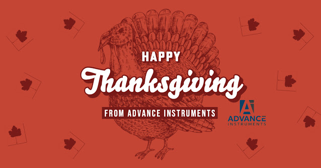 Happy Thanksgiving from Advance Instruments
