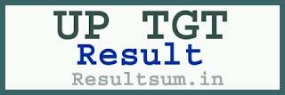 UP TGT Result 2015