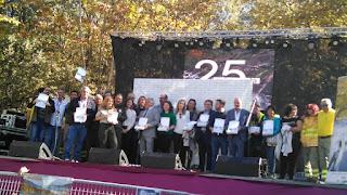 Arranca la Otoñada 2019 en el Valle del Jerte coincidiendo con el XXV Aniversario de la Reserva Natural Garganta de los Infiernos