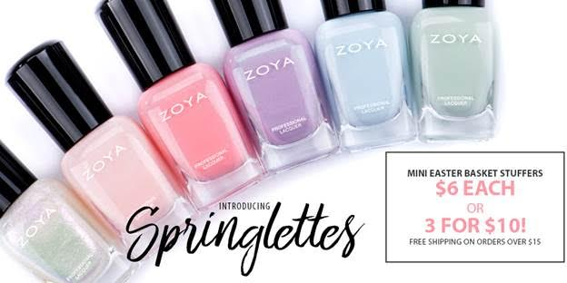 ZOYA MINI SPRINGLETTES ARE HERE!