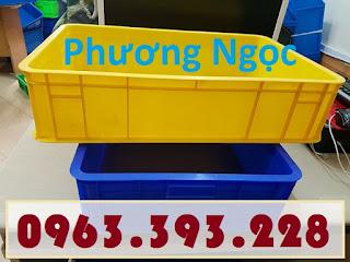 Sóng nhựa bít HS007, thùng nhựa đặc công nghiệp, thùng nhựa đặc có nắp, thùng nh 20180407_115815