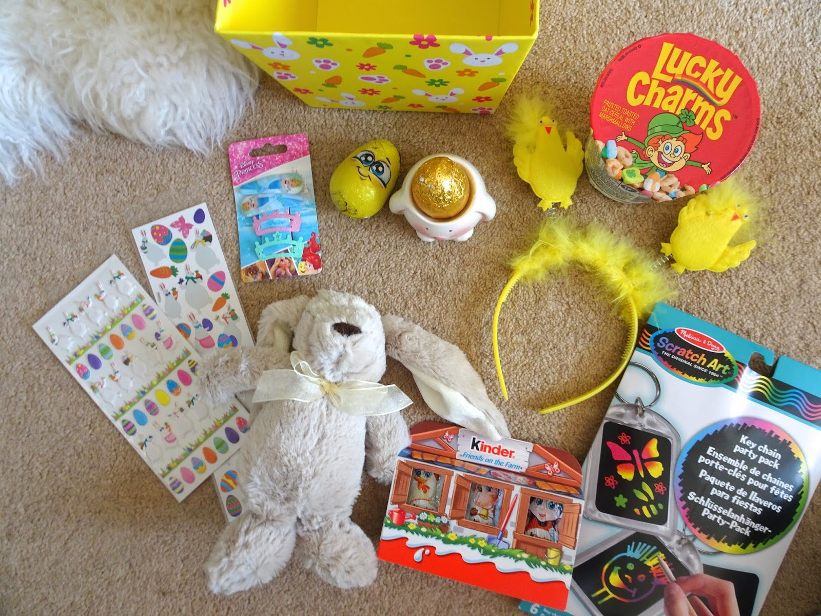 White apron poundland -  She Has Some Kinder Chocolate Treats A Couple Of Larger Eggs One Has A Toy In It And The Other Is The Golden Popping Candy Egg Both From Poundland