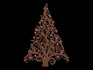 Download Pohon Natal Free Vector Art v1 Logo Vector Format CDR.