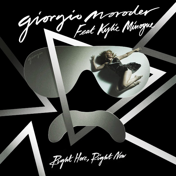Giorgio Moroder - Right Here, Right Now (feat. Kylie Minogue) - Single Cover
