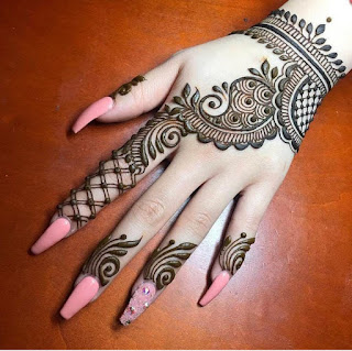 Wedding mehndi designs pictures and photos
