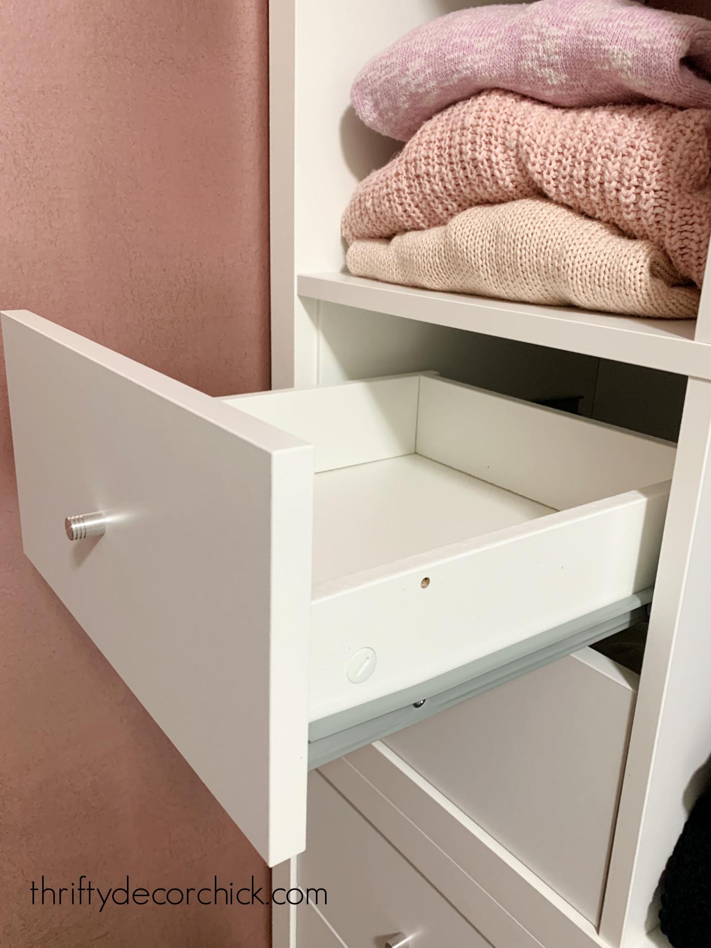 Kallax white drawer inserts