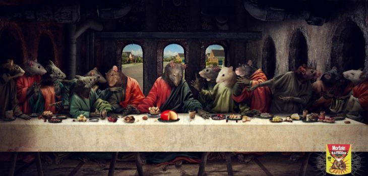 Mortein - Ads - Last Supper
