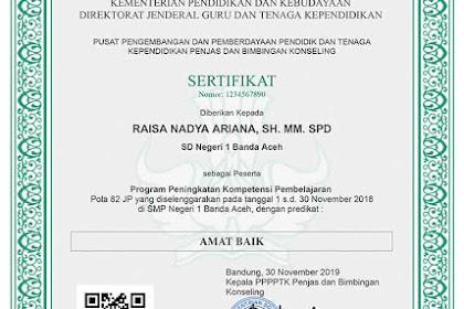 Cara Unduh Sertifikat Diklat PKP Tahun 2019