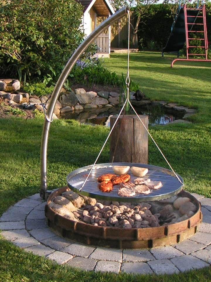 simple and stunning backyard design idea