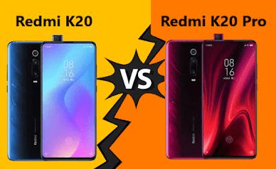 Perbandingan Redmi K20 dan Redmi K20 Pro