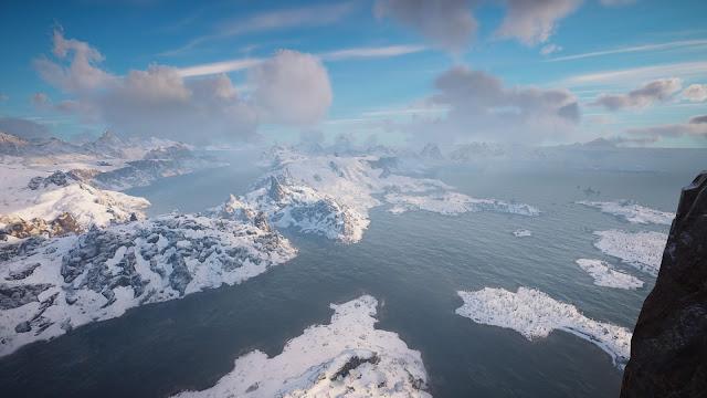 Paraje nevado Noruega Assassins Creed Valhalla