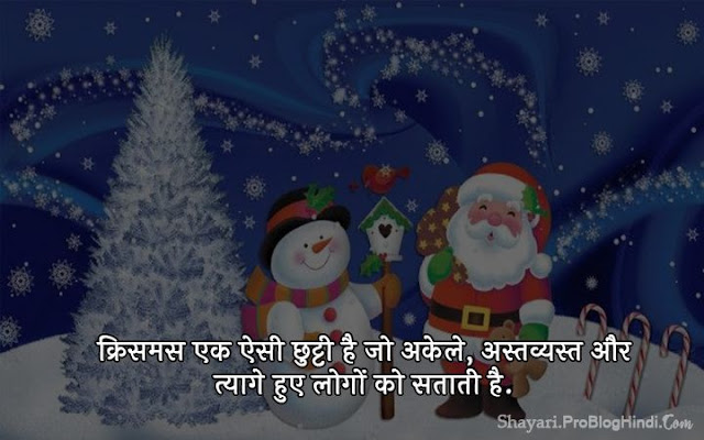 happy merry christmas day shayari