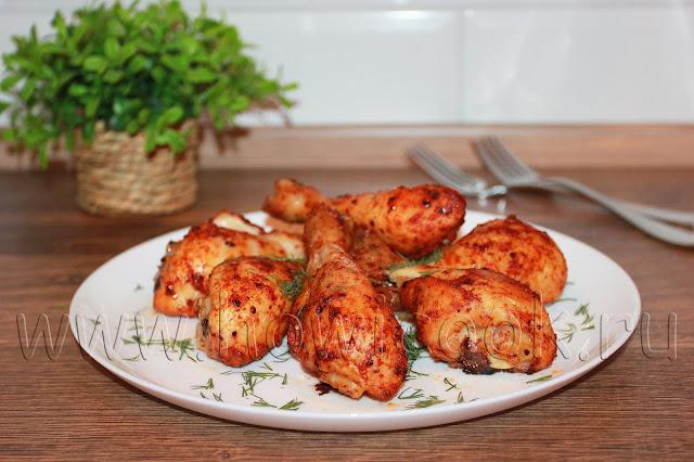 рецепт курицы в паприке