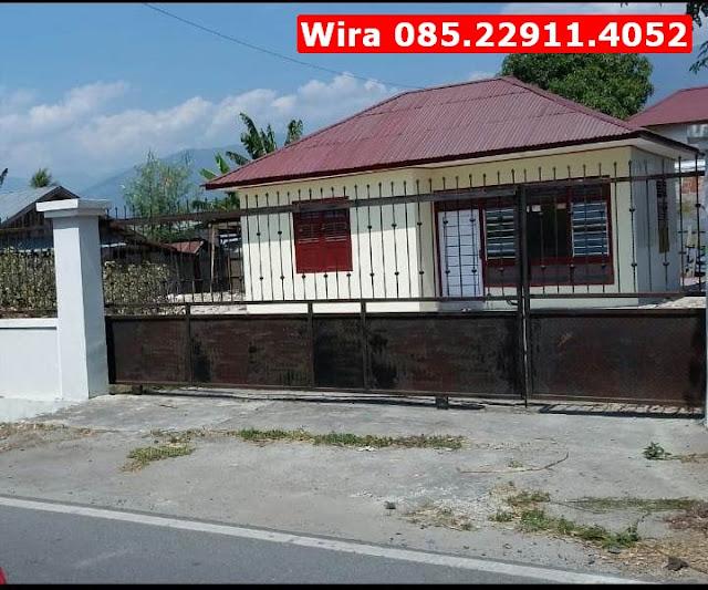 Jual Tanah Kosong Luas & Rumah Murah Kota Palu, Akses Jalan Mudah, Lokasi Strategis, Wira 085.22911.4052