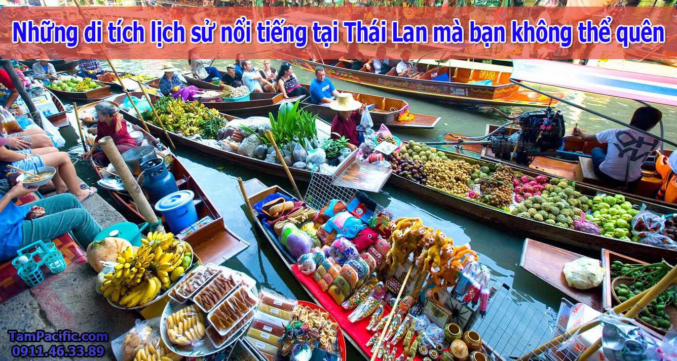 Những di tích lịch sử nổi tiếng tại Thái Lan mà bạn không thể quên