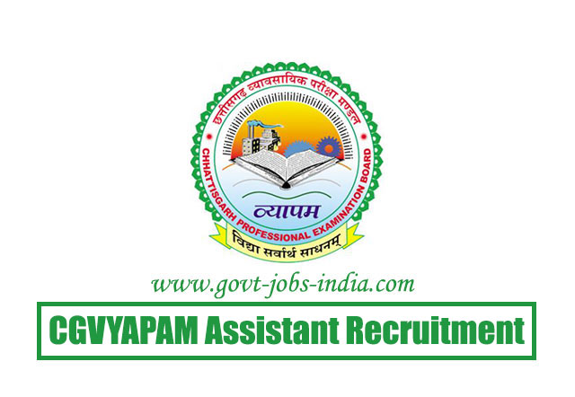 CGVYAPAM Assistant Recruitment 2020 – 144 Assistant, DEO & Steno Typist Vacancy – Last Date 08 March 2020