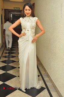 Actress Pragya Jaiswal Stills in Beautiful White Dress at turodu Audio Launch  0042.JPG