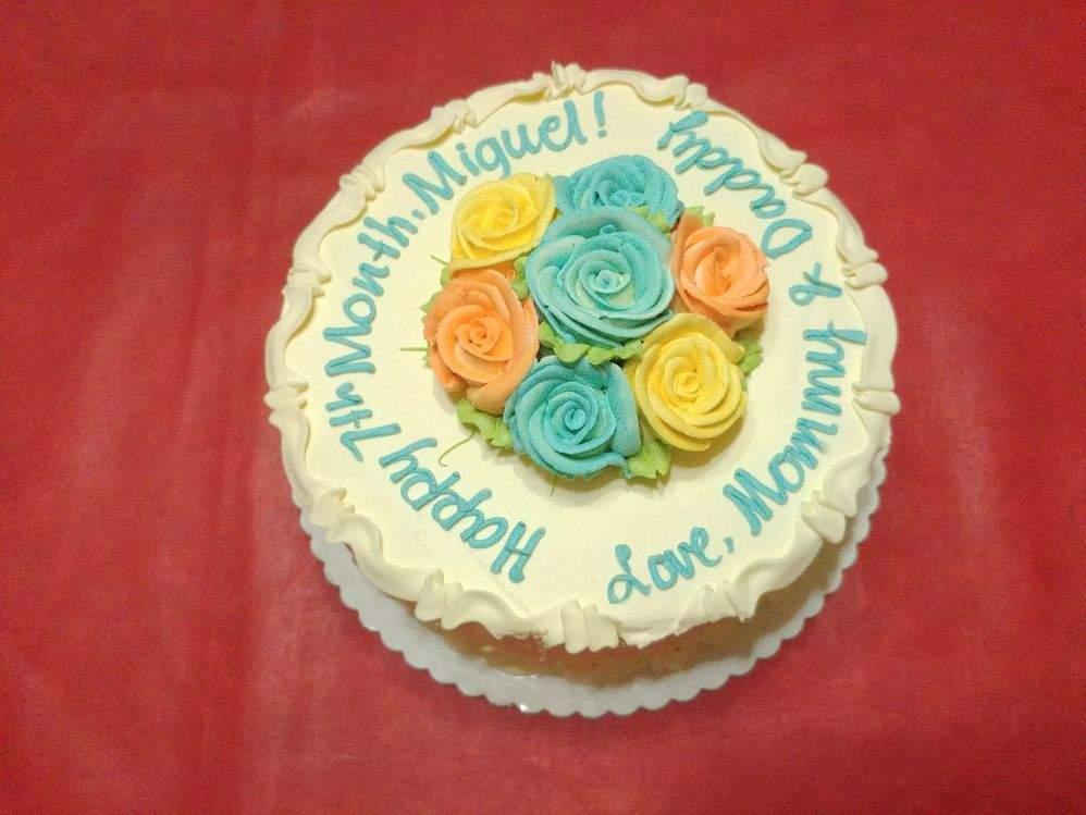 Estrel's Caramel Cakes eight inch cake