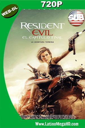 Resident Evil: El capítulo final (2016) Subtitulado HD Web-Dl 720p ()