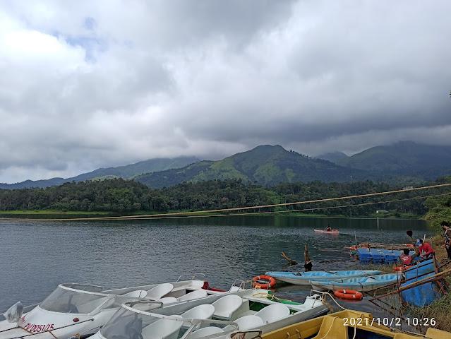 boating and kayaking in Banasura sagar dam