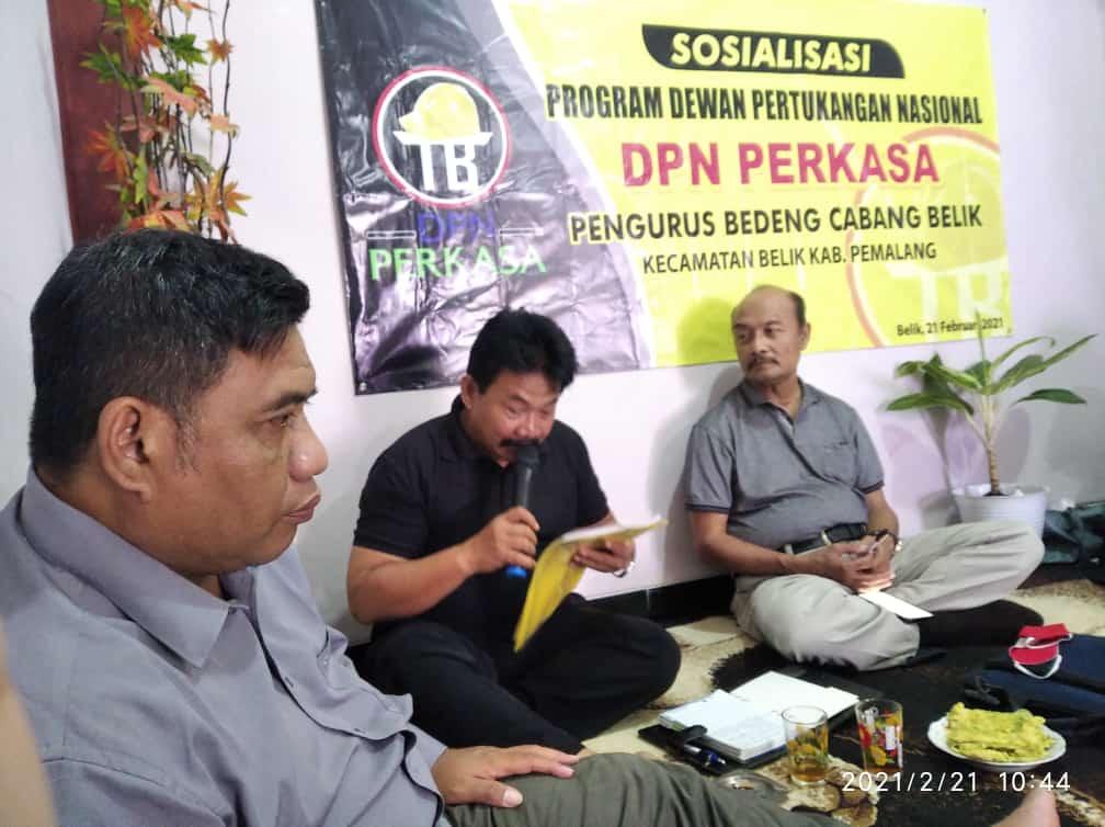 DPN Kecamatan Belik Pemalang Gelar Sosialisasi