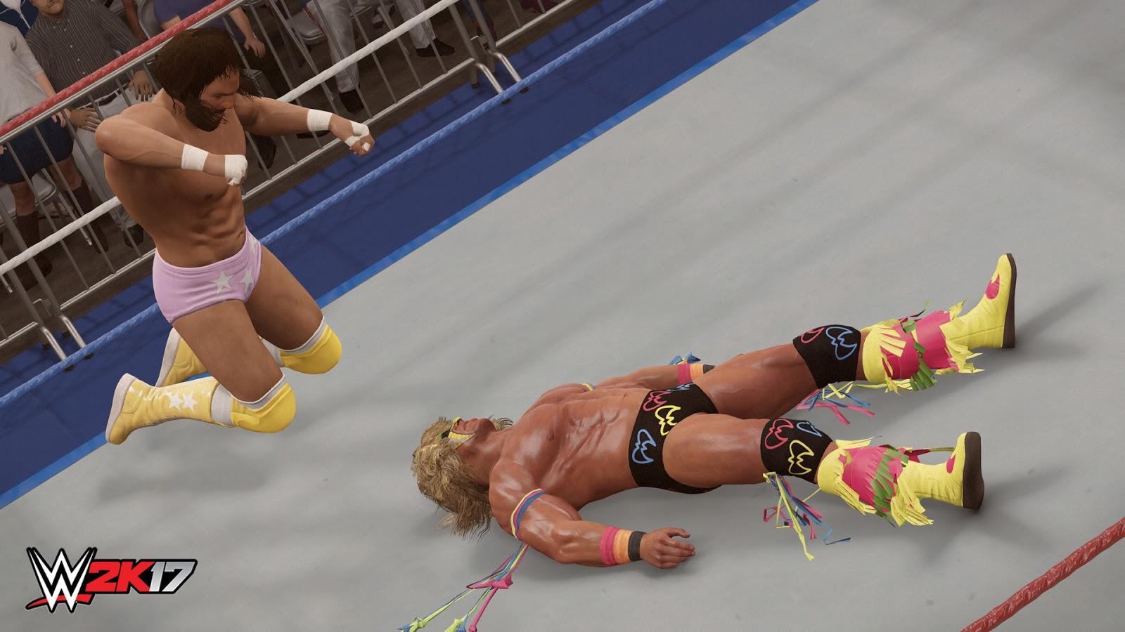 WWE 2K17 ESPAÑOL PC Descargar Full (CODEX) + REPACK 10 DVD5 (JPW) 2