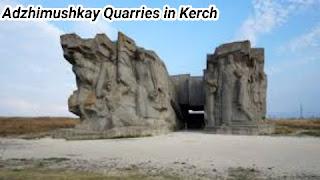 Adzhimushkay Quarries in Kerch