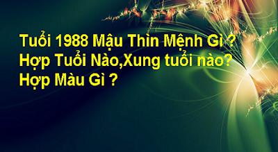 Tuoi 1988 Mau Thin