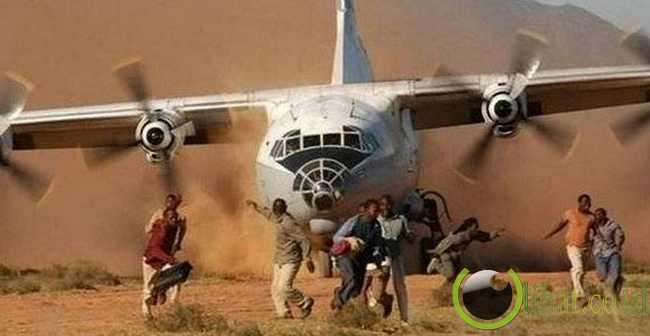 Dikejar Pesawat