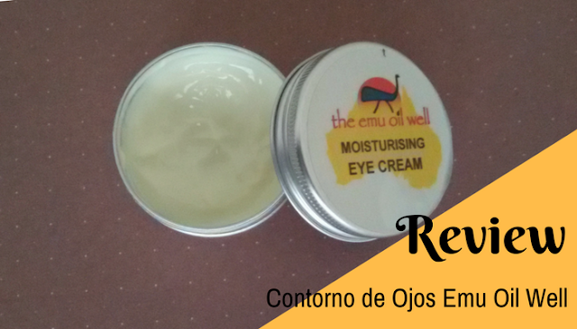 Emu oil well contorno ojos eye cream