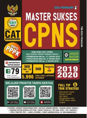 Download Gratis E-BOOK Master Sukses CAT CPNS 2019-2020