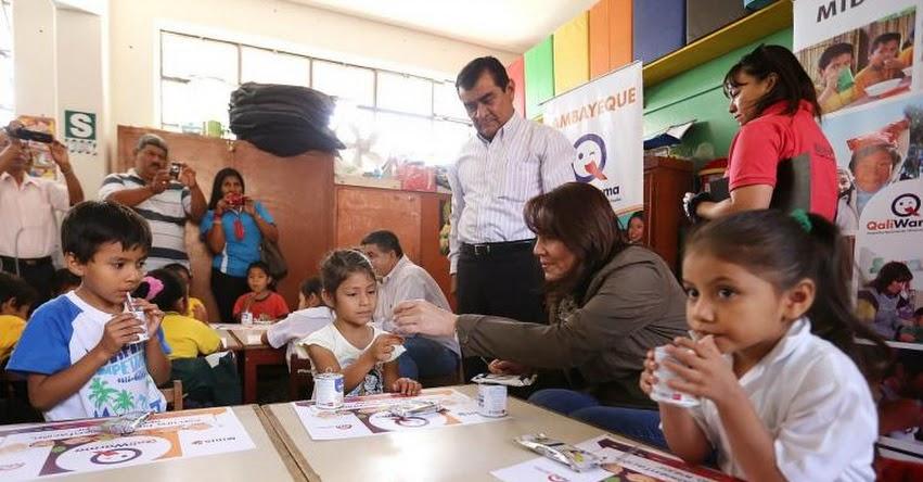 QALI WARMA: Cerca de 125,000 escolares de Lambayeque reciben servicio alimentario - www.qaliwarma.gob.pe