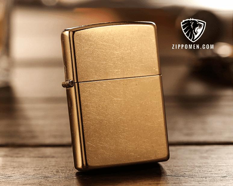 Zippo Gold Dust - MS 207G | Zippo Cổ | Zippo Đẹp Tại Hà Nội | Zippo