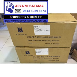 Jual Eye Wash 607 Stainless + Shower di Balikpapan