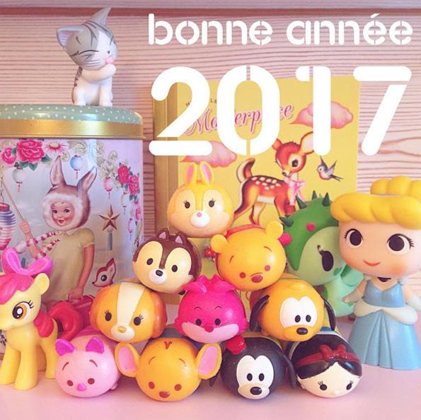 Bonne année 2017 - Livres et merveilles