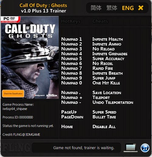 Call Of Duty Trainer