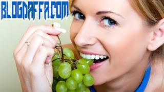 Anggur kaya akan serat sehingga dapat menurunkan LDL dalam tubuh