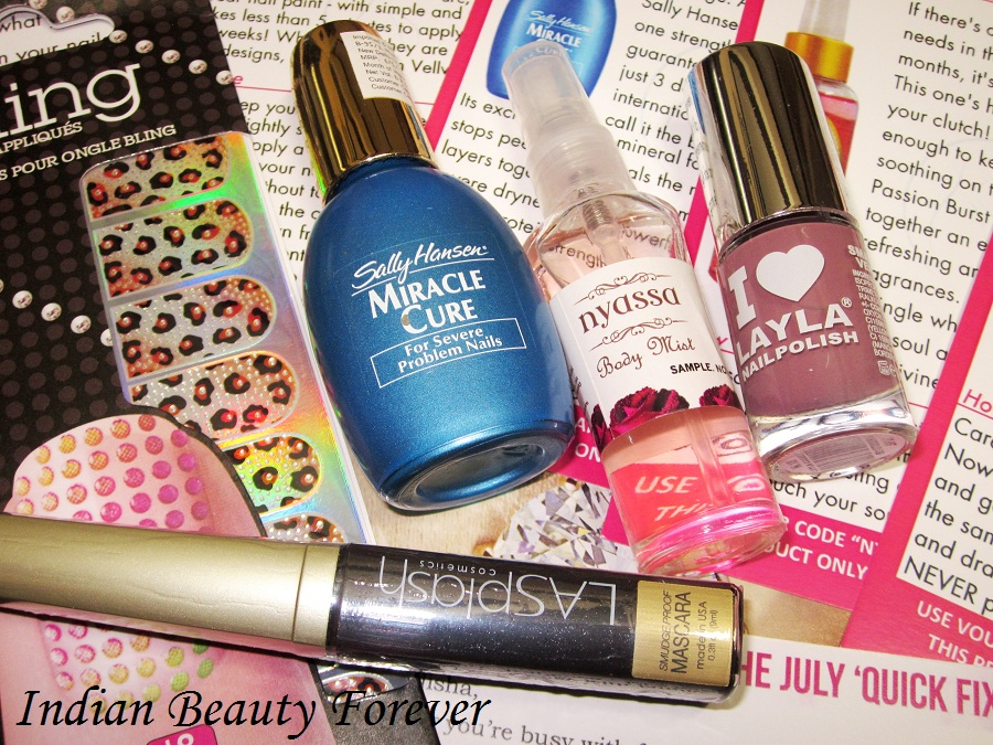 July 2013 Vellvette box and products