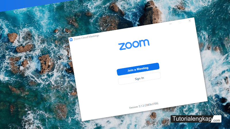 tutorialengkap 5 cara install dan Mendaftar akun Zoom pada Laptop