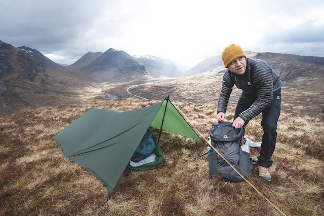 How to pack ultralight for the West Highland Way