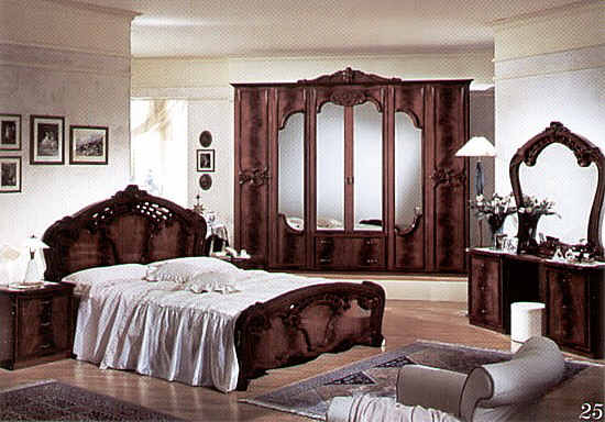 Italian bedroom furniture needs to tie together with the for Italian bedroom furniture