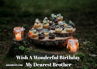 Happy Birthday Brother Wishes, Images, SMS, Status, Quotes