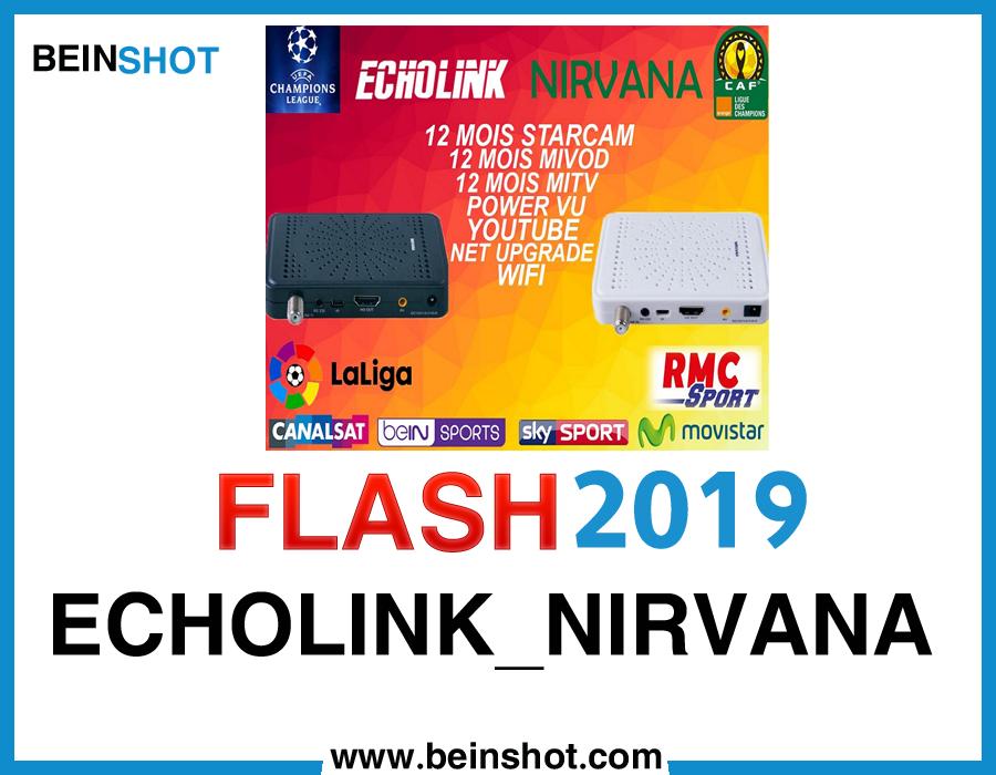 التحديث الرسمي لجهاز ECHOLINK_NIRVANA 2019