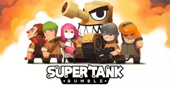 نقدم لكم عن لعبة معارك الدبابات الخارقة Super Tank Rumble