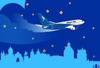 Castiga bilete gratuite timp de 1 an, pe orice zbor operat regulat de Blue Air - concurs - castiga.net