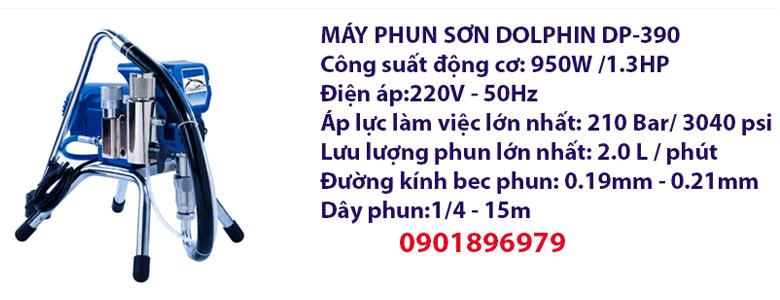 MÁY PHUN SƠN DOLPHIN DP-390